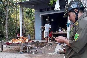 Người đàn ông tử vong trong căn nhà bốc cháy, cửa khóa trái