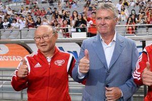 Báo Hàn mong thầy Park tái ngộ HLV Guus Hiddink ở giải U23 châu Á