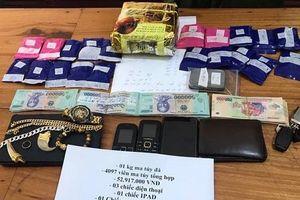 Nghệ An: Liên tiếp bắt nhiều vụ vận chuyển ma túy