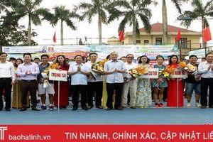 Khai mạc giải Quần vợt Cúp Truyền hình Hà Tĩnh lần thứ IV, năm 2019