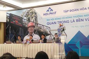 Ông Trần Đình Long: Chúng tôi bảo thủ có cơ sở! Tôi tin HPG vẫn là cổ phiếu tốt!