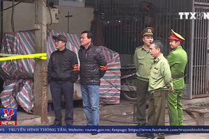 Bắt giữ đối tượng cướp tài sản tại chợ Long Biên