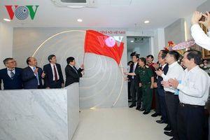 Tổng Giám đốc VOV Nguyễn Thế Kỷ dự lễ bàn giao trụ sở CQTT Miền Trung