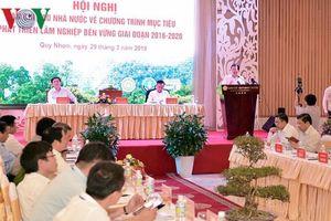 Phó Thủ tướng: Tiếp tục thực hiện nghiêm chủ trương đóng cửa rừng