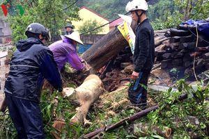 Mưa giông ở Bắc Kạn và Lạng Sơn gây hư hỏng trên 800 ngôi nhà