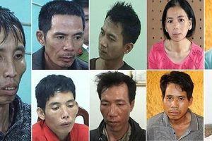 Chân dung 9 bị can vụ hiếp, giết nữ sinh giao gà ở Điện Biên