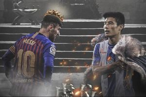 Chặng đường thành công của sao số 1 Trung Quốc mang bóng dáng Messi