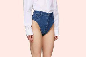 Chiếc quần lót denim giá 8 triệu đồng, bạn có muốn mua?