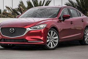 Xe Mazda6 2019 tăng giá, bỏ hộp số sàn 6 cấp