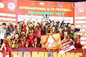 Vô địch U.19 Quốc tế, bóng đá trẻ Việt Nam khẳng định sức mạnh trước người Thái