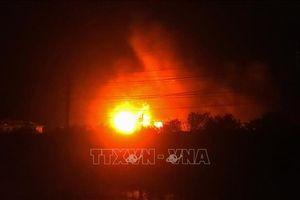 Nổ lớn tại xưởng đá do rò rỉ khí ga, ít nhất 5 người thiệt mạng