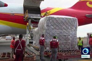 Venezuela tiếp nhận sự giúp đỡ đầu tiên từ Trung Quốc, Nga