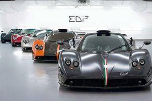 Dàn siêu xe siêu xe Pagani triệu đô mừng sinh nhật Zonda