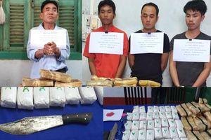 Hành trình 'chặt đứt' đường dây vận chuyển ma túy lớn qua biên giới