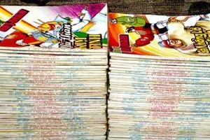 Thú sưu tập truyện tranh cũ