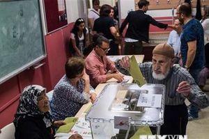 Chiến dịch vận động tranh cử tại Thổ Nhĩ Kỳ chính thức kết thúc