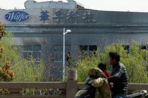 Lại nổ lớn tại nhà máy Trung Quốc, ít nhất 7 người thiệt mạng