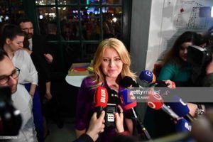 Slovakia có nữ Tổng thống đầu tiên trong lịch sử
