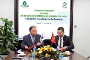 An Phát Holdings có mặt trong chuỗi cung ứng của Samsung