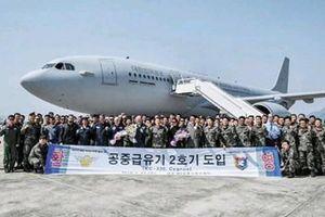 Quân đội Hàn Quốc nhận máy bay tiếp dầu từ Airbus