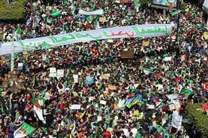 Biển người biểu tình phản đối Tổng thống Algeria 82 tuổi