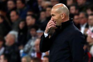 Zidane thừa nhận Real Madrid khó thi đấu tốt khi không còn động lực
