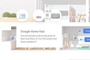 Nest Hub Max rò rỉ với màn hình 10 inch