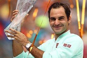 Hạ gục 'máy giao bóng' Isner, Federer lần thứ tư lên ngôi tại Miami Open