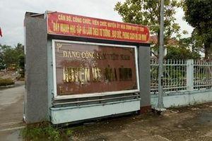 Đề nghị kỷ luật và kỷ luật nhiều 'sếp' cấp huyện tỉnh Bạc Liêu
