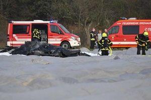 3 người thiệt mạng trong vụ rơi máy bay ở miền tây nước Đức