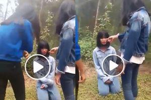 Nữ sinh Nghệ An bị ba bạn tát vào mặt