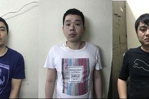 Bàn giao 3 đối tượng truy nã cho Công an Trung Quốc