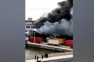 Nổ lớn tại nhà máy luyện kim Trung Quốc, 7 người thiệt mạng
