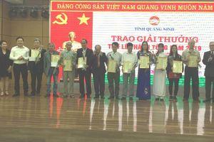 Quảng Ninh: Trao giải thưởng thơ Lê Thánh Tông lần thứ 31