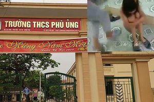 Sức khỏe nữ sinh bị lột đồ, đánh hội đồng ở Hưng Yên phải nhập viện tâm thần giờ ra sao?