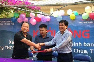 MobiFone khởi công xây tặng nhà ở bán trú cho học sinh xã Trung Thu, huyện Tủa Chùa, Điện Biên