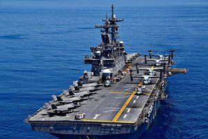 Chiến hạm Mỹ ở Biển Đông mang theo phi đội F-35B lớn chưa từng thấy