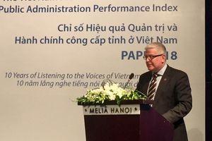 Khảo sát PAPI 2018: Hiệu quả quản trị và hành chính công đã được cải thiện