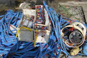 BĐBP Cà Mau xử phạt phương tiện đánh bắt thủy sản bằng kích điện