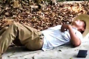 Bị cắn chết khi cầm cổ rắn hổ mang chụp ảnh