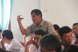 Phó Chủ tịch Bình Định đối thoại với người dân về dự án điện mặt trời