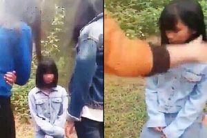 Nghệ An: Họp khẩn vụ nữ sinh lớp 7 bị bắt quỳ, tát liên tiếp vào mặt