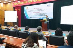Samsung đào tạo 105 chuyên gia công nghiệp phụ trợ Việt Nam trong 2019