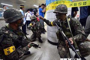 Mỹ không giảm quy mô các cuộc tập trận quân sự chung với Hàn Quốc