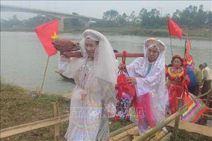 Lễ hội 'Rước nước' làng Bồng Thượng