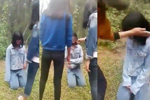 Mẹ nữ sinh bị nhóm bạn đánh hội đồng 'không muốn làm lớn chuyện'