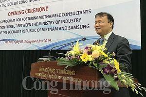 Việt Nam có thêm 105 chuyên gia về công nghiệp phụ trợ do Samsung đào tạo