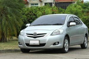 Giá xe Toyota Vios 2009 hiện nay là bao nhiêu?