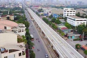 Yêu cầu nhà thầu tuyến Nhổn - ga Hà Nội sửa ngay mặt đường xuống cấp
