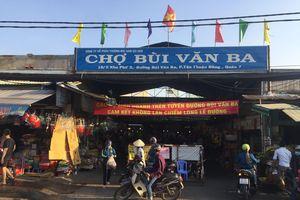 Quyết liệt dẹp chợ tạm
